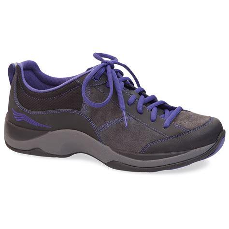 dansko s sabrina shoes black violet