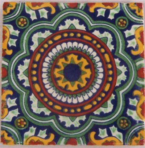 tepupa talavera mexican tile 90 mexican 4x4 quot tiles talavera clay hand made c228
