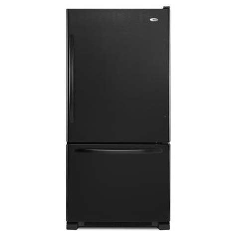 amana 18 5 cu bottom freezer refrigerator home