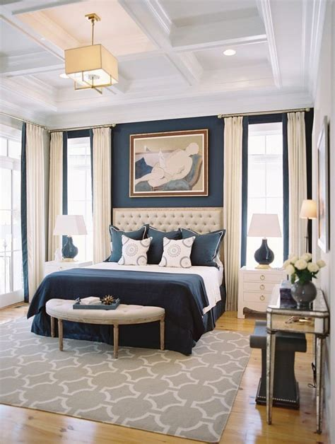 ideas  navy blue bedrooms  pinterest blue