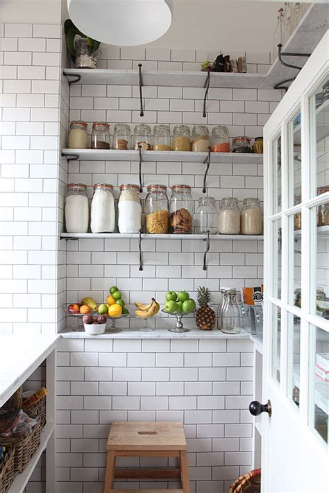 Open Pantry Shelves by Pantry Storage Ideas Bullard