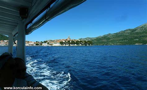 fast boat dubrovnik korcula taxi boat water taxi korcula