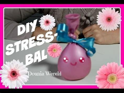Squishy Tomat Rissing diy squishy antistress balls zelf stressballen maken