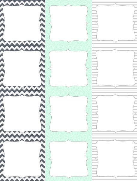 Round Square Labels From Lizzy S Collection Worldlabel Blog Free Tags Templates Printable