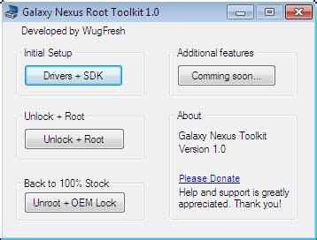 easily unlock and root your verizon galaxy nexus with this