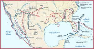 interactive map exploration of america map of exploration and early colonization