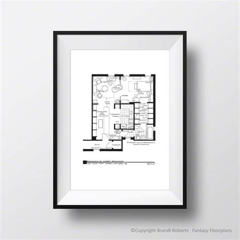 and the city apartment floor plan set of 5 floorplan posters for apartments of mr big