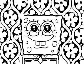 cool coloring pages to print spongebob coloring pages free printable coloring pages