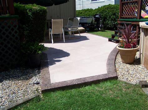 Gs Flatwork Llc Decorative Concrete Patios Concrete Patio Designs Layouts