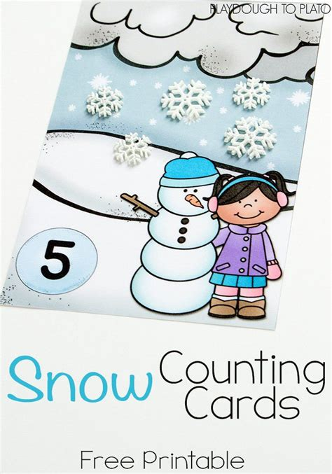 snow playdough mats printable snow counting mats numbers 1 10 snow printables and plato