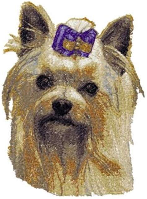 yorkie embroidery designs advanced embroidery designs terrier