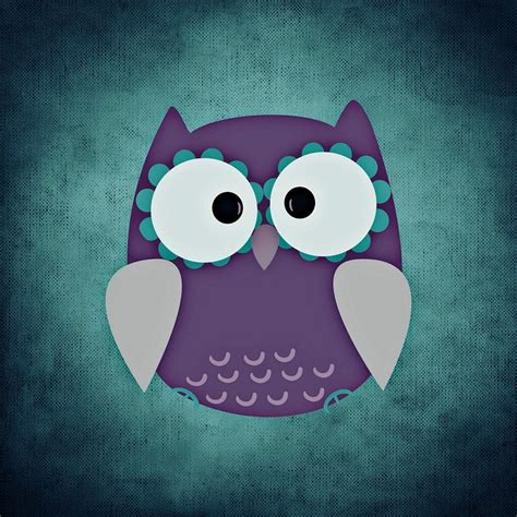 wallpaper animasi owl lucu free illustration owl colorful funny bird free image