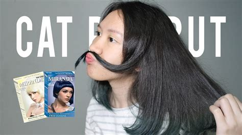 tutorial warna rambut sendiri tutorial cara mewarnai rambut sendiri blue miranda