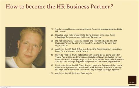 Anschreiben Bewerbung Hr Busineb Partner How To Become The Hr Business Partner