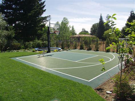 backyard basketball court flooring backyard basketball court ideas home interior eksterior