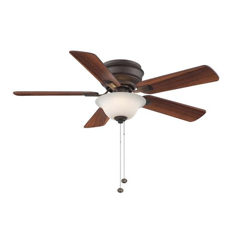 Hton Bay Hawkins 44 In Tarnished Bronze Ceiling Fan