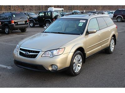 tan subaru outback find used 2009 subaru outback limited awd sunroof