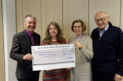 Spenden 252 Bergabe Durch Die Sparda Bank Hospiz Bruchsal