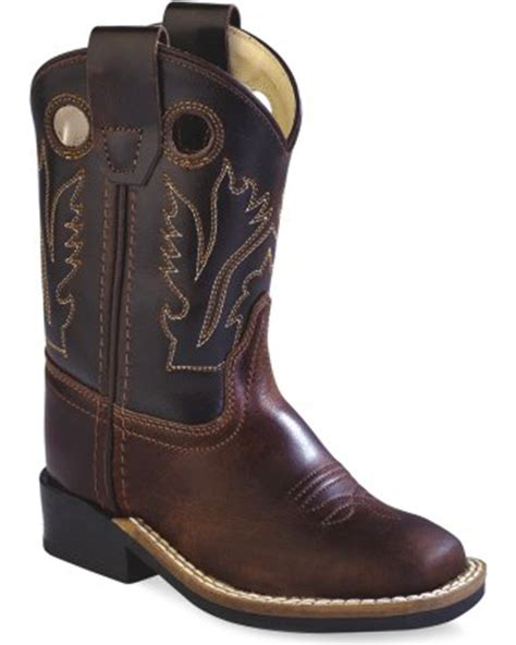 toddler boys cowboy boots west toddler boys brown western cowboy boots square