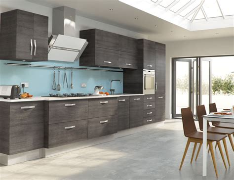 Grey Oak Kitchen Cabinets | mad about grey kitchens