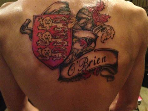family emblem tattoo creative family crest tattoo on back for boys picsmine