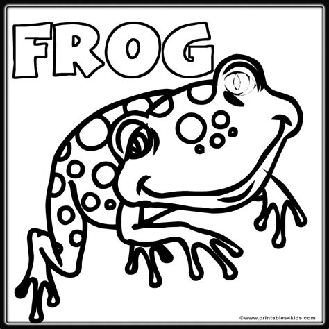 frog coloring page pdf frog color pages az coloring pages
