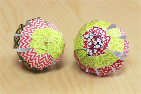 Paper Balls How To Make - diy paper ornaments world of pineapple