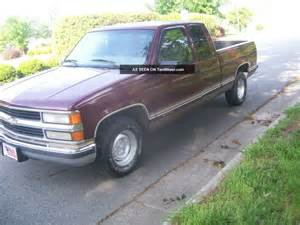 1997 chevy silverado 1500 truck extended cab