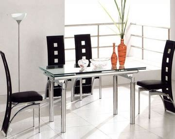 Metal Dining Table W Glass Top Ol Dt17 Metal Dining Set W Glass Top Ol Dt06s