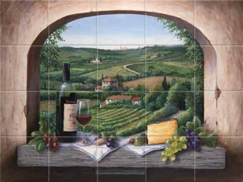 italian tile murals tuscany backsplash tiles kitchen tile murals italian tiles for kitchen italian