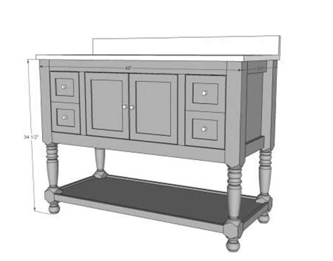 48 bathroom vanity plans plans for a bathroom vanity cabinet woodworking projects plans