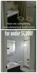Small Bathroom Remodel Ideas On A Budget bathroom remodel on a budget with reclaimed materials refresh living