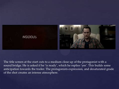 insidious film trailer analysis insidious trailer analysis
