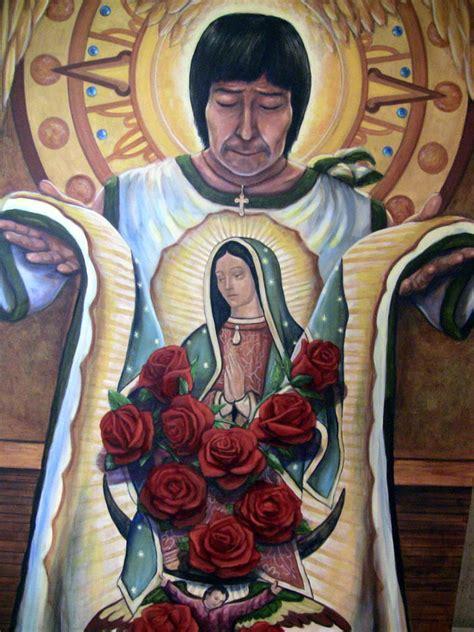 imagenes de la virgen maria con juan diego 2002 el papa juan pablo ii canoniza al indio juan diego