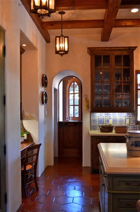 interior spanish style homes spanish style home traditional kitchen san francisco