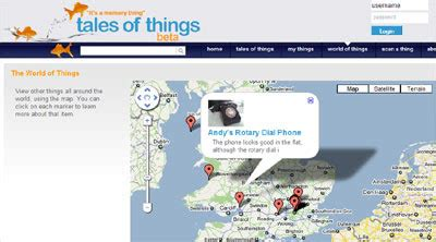 maps mania: tracking objects with google maps