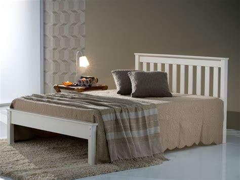 Birlea Denver Double Ivory Wooden Bed Frame Bed Frames Denver
