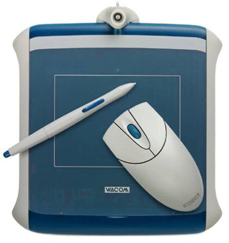 Mouse Pen Wacom wacom graphire2 pen mouse tablet set steel blue