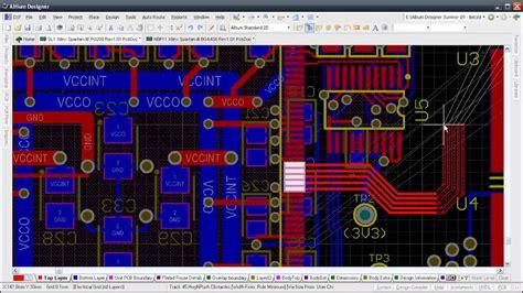 pcb layout software altium altium designer 10 pcb level design youtube