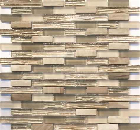Kitchen Backsplash Travertine - sample white oak gray marble and beige cream glass blends mosaic tile kitchen ebay