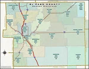 el paso county school map see all colorado springs co