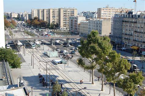 porte de vincennes prolongement du tramway t3 site