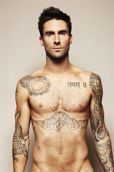 adam levine maroon 5 the male celebrity