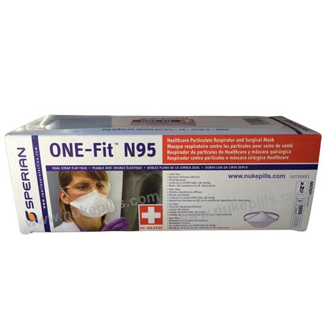 Masker Per Box cdc n95 masks for flu folds flat for easy carry
