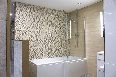 Ceramic Tile Bathroom Ideas Pictures Ideas Amp Tips For Creating Stylish Over Bath Showers