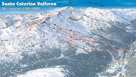 santa caterina santa caterina valfurva piste map plan of ski slopes and