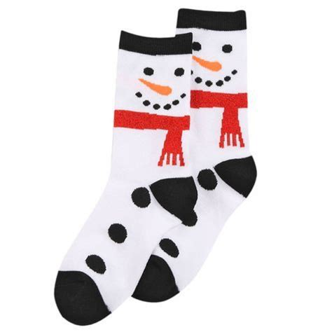christmas sock girls snowman crew holiday sock shopko socks designed