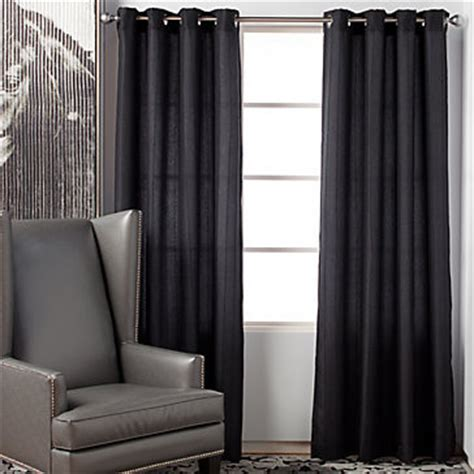 z gallerie drapes mitoni panels charcoal modern curtains by z gallerie