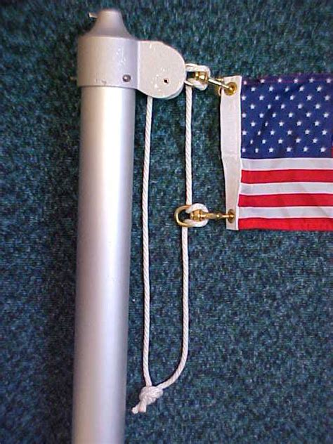 on a boat pulleys are used to raise and lower flag pole rope flag pole accessories flag pole clips