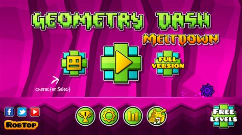 full version geometry dash meltdown geometry dash meltdown android 17 20 test photos vid 233 o